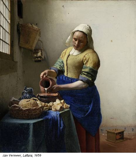 Jan Vermeer, Lattaia, 1659